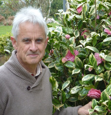 Camellia Splendor with breeder Stervinou
