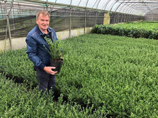 Ilex Strong Caroline with breeder André van Nijnatten
