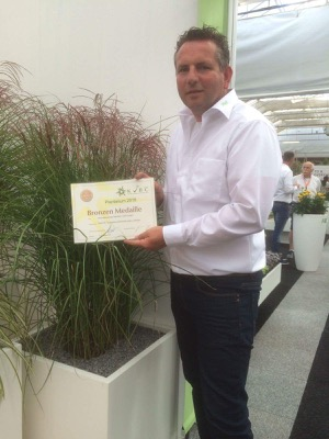 Medals earned by Miscanthus Red Cloud®