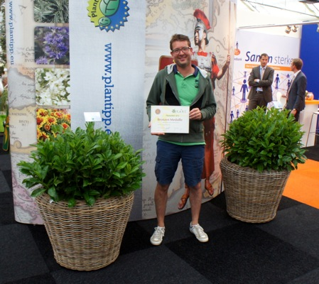 Medals earned by Prunus Green Planet®