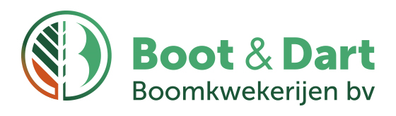 Logo of Boot & Dart Boomkwekerijen BV